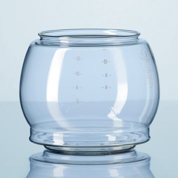 DURAN® Bulbous jugBulbous glass carafe without spout