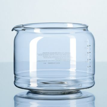 DURAN® Cylindrical glass carafe